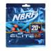 Nerf Elite 2.0, Стрелы 20шт F0040EU4