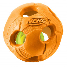 Игрушка для собак Nerf Мяч светящийся малый Оранжевый