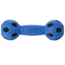 Игрушка для собак Nerf Гантель средняя Синяя
