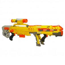 Бластер N-Strike Long Shot CS-6 Nerf 2 в 1 (желтый)