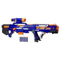 Бластер N-Strike Long Shot CS-6 Nerf 2 в 1 (синий)